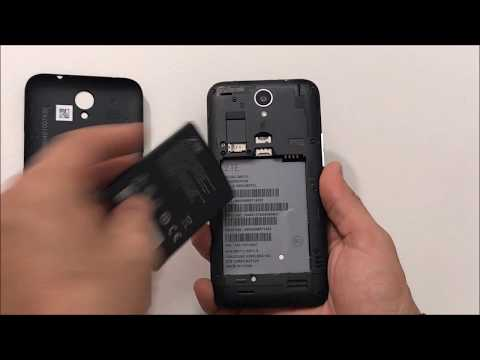 How To Install SD And SIM Card Into ZTE ZFive 2 LTE
