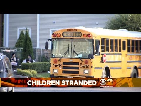 Elementary School Students Say Bus Driver Left Them Stranded