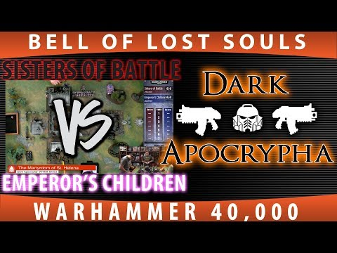 40k: The Martyrdom of St. Helena Part 1: Sisters of Battle vs Emperor's Children