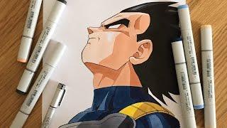 Drawing Vegeta - Dragon Ball Z