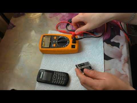 Samsung GT-E1080W (Бабушкафон) не включается, не заряжается