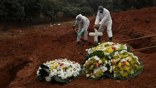 Brazil overtakes Italy as country with third-highest Covid-19 death toll
