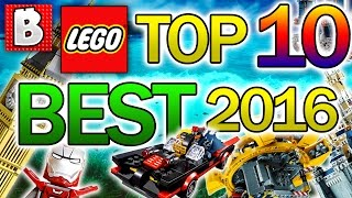 TOP 10 BEST LEGO SETS 2016!!! | A YEAR IN REVIEW