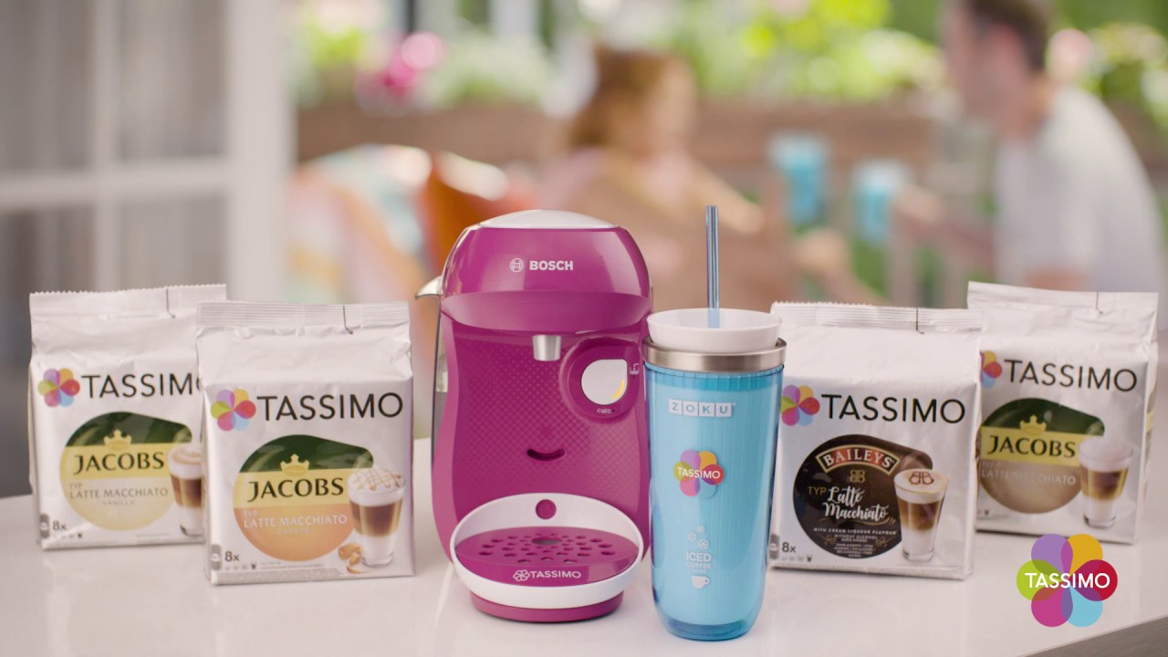 TASSIMO eisgekühlt mit dem ZOKU Iced Coffee Maker - YouTube