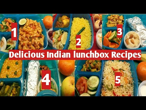 Husband's Lunch Boxes Recipes For Whole Week / Indian NRI  Lunch Box Recipes/#rujutadiwekardietplan