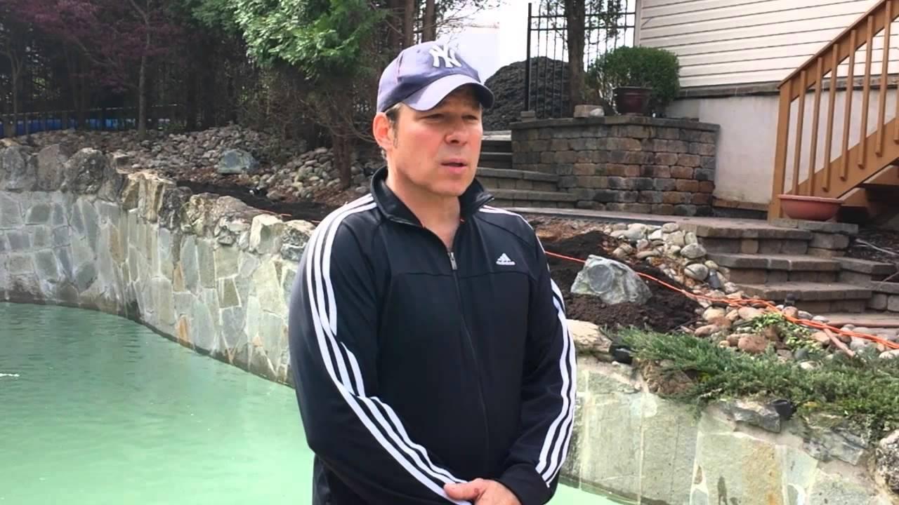 Acid Wash Gunite Pool : Inground swimming pool acid washing flemington nj youtube