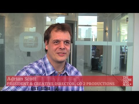 Go2 Productions - The Globe and Mail - Adrian Scott Interview
