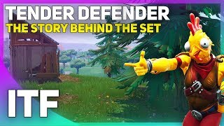 How the Tender Defender Skin Came to Fortnite! (Fortnite Battle Royale)