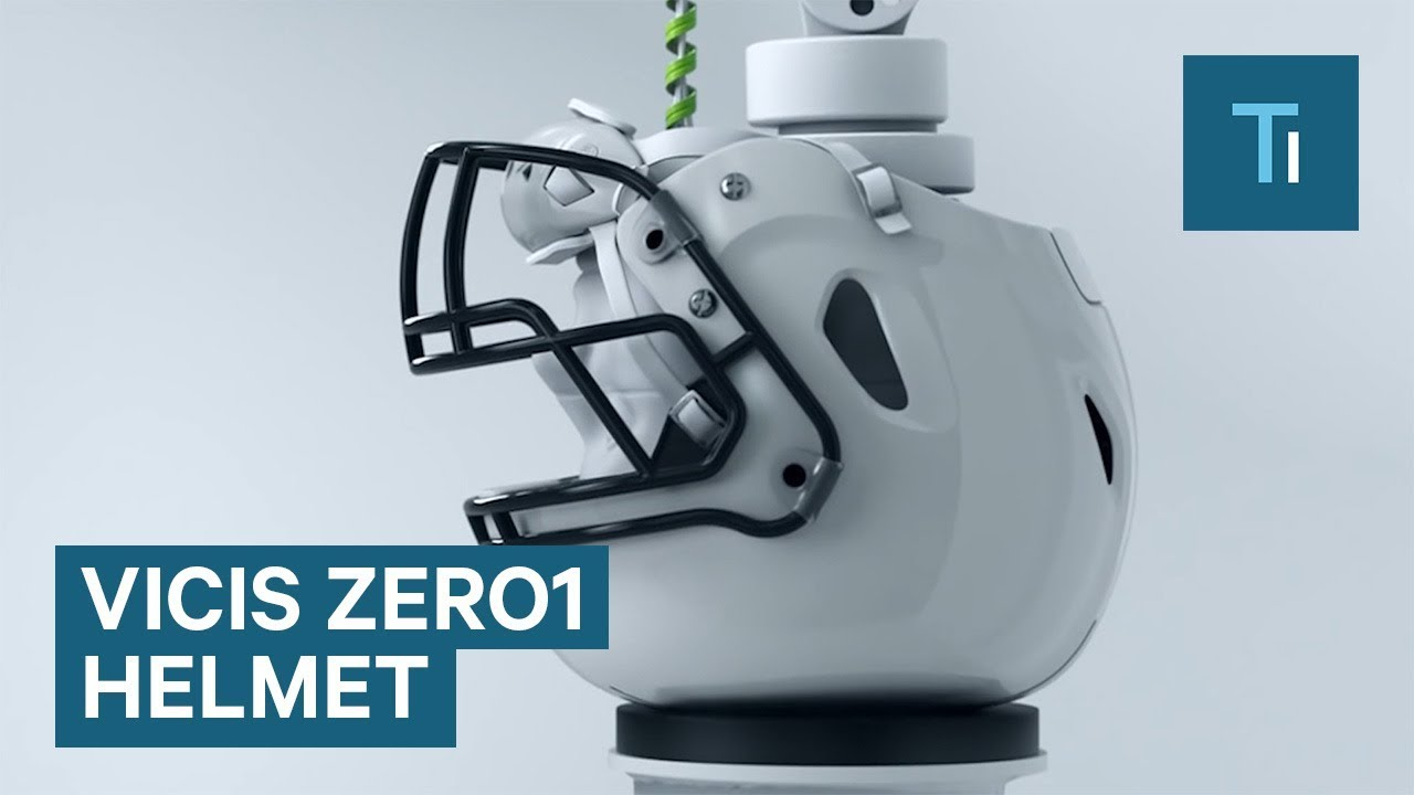 Nfl Using The Vicis Zero1 Football Helmet That Morphs On Impact To