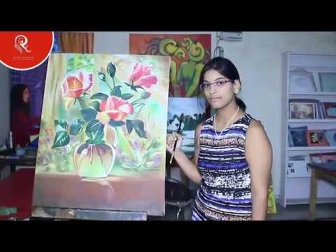 canvas painting classes at raghuvansham school school of modern art