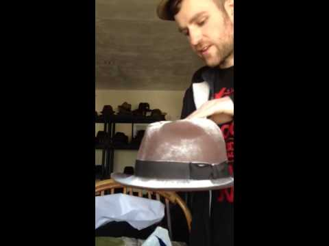 How to clean lingering smells out of felt hats fedoras etc.
