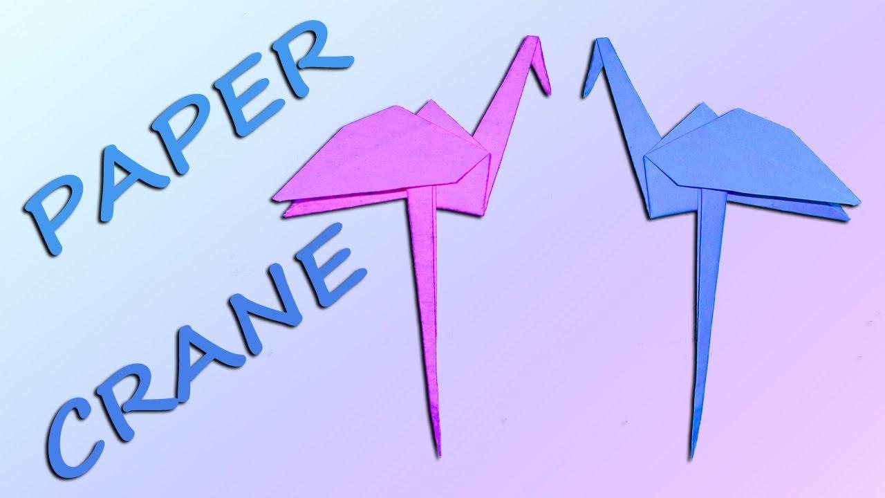 Origami Crane folding instructions | Origami crane tutorial ... | 720x1280