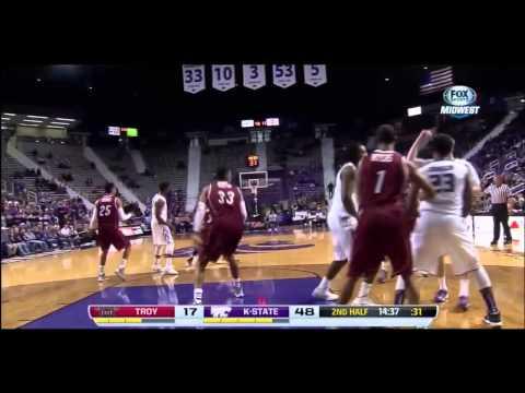 2013 K-State vs Troy Basketball