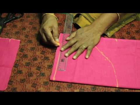 how to cut lining blouse cutting in tamil part 1 - YouTube