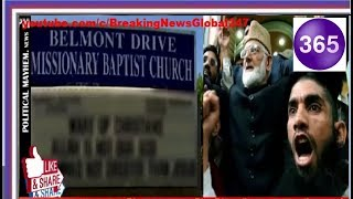 Oregon Muslims About To Riot After What Badass Pastor Hangs Outside His Church Overnight thumbnail