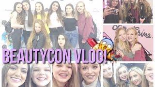 ♡Beautycon London 2016 Vlog//Meeting My Internet Besties!♡~lush leah