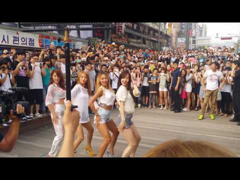 씨스타 Touch My Body   Sistar  Dance Performances On The Road HD