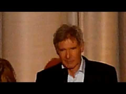 Harrison Ford introducing the UK Premiere of Morning Glory
