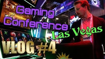 Vlog #4 - G2E gaming conference in Las Vegas