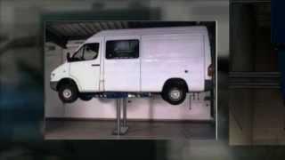 Kolumnowe i nożycowe podnośniki samochodowe Elwico