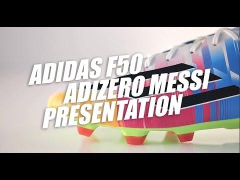Adidas F50 Adizero Messi Multicolour presentation
