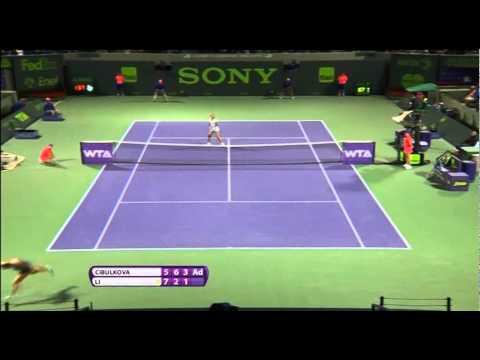 Li Na scores 7th straight win over Cibulkova