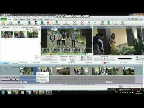 Mengedit Video Menggunakan VideoPad Bagi Pemula #1
