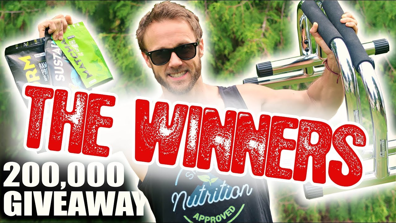 200K GIVEAWAY WINNERS! FUN ANNOUNCEMENT
