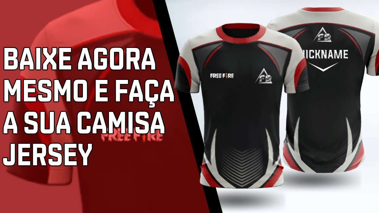 Download FREE MOCKUP CAMISA JERSEY + TUTORIAL + Download Gratuito ...