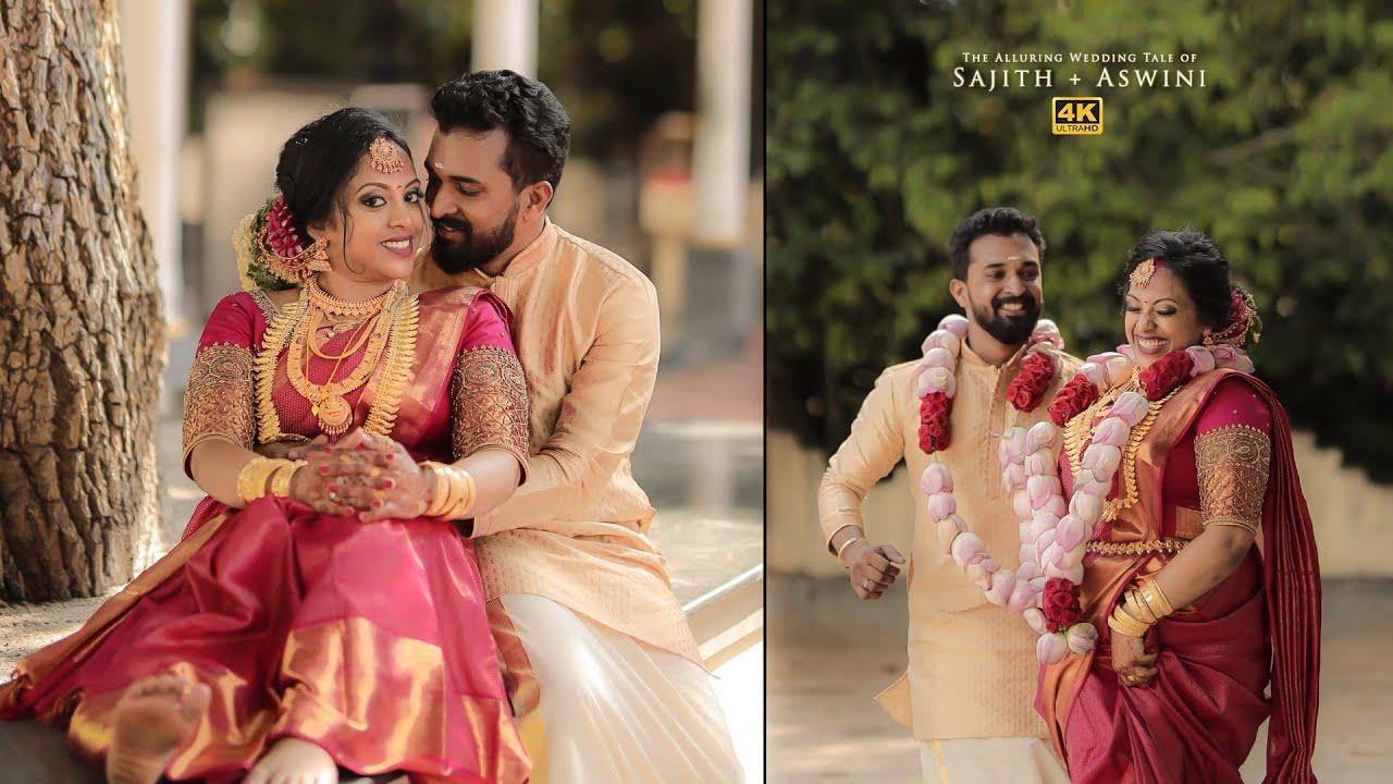 Cinematic Wedding Highlights | Sajith + Aswini | Wedink Stories | 4K