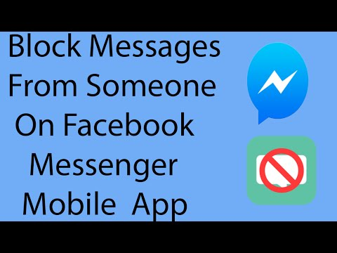 How To Block Messages From Someone On Facebook Messenger Mobile App ?