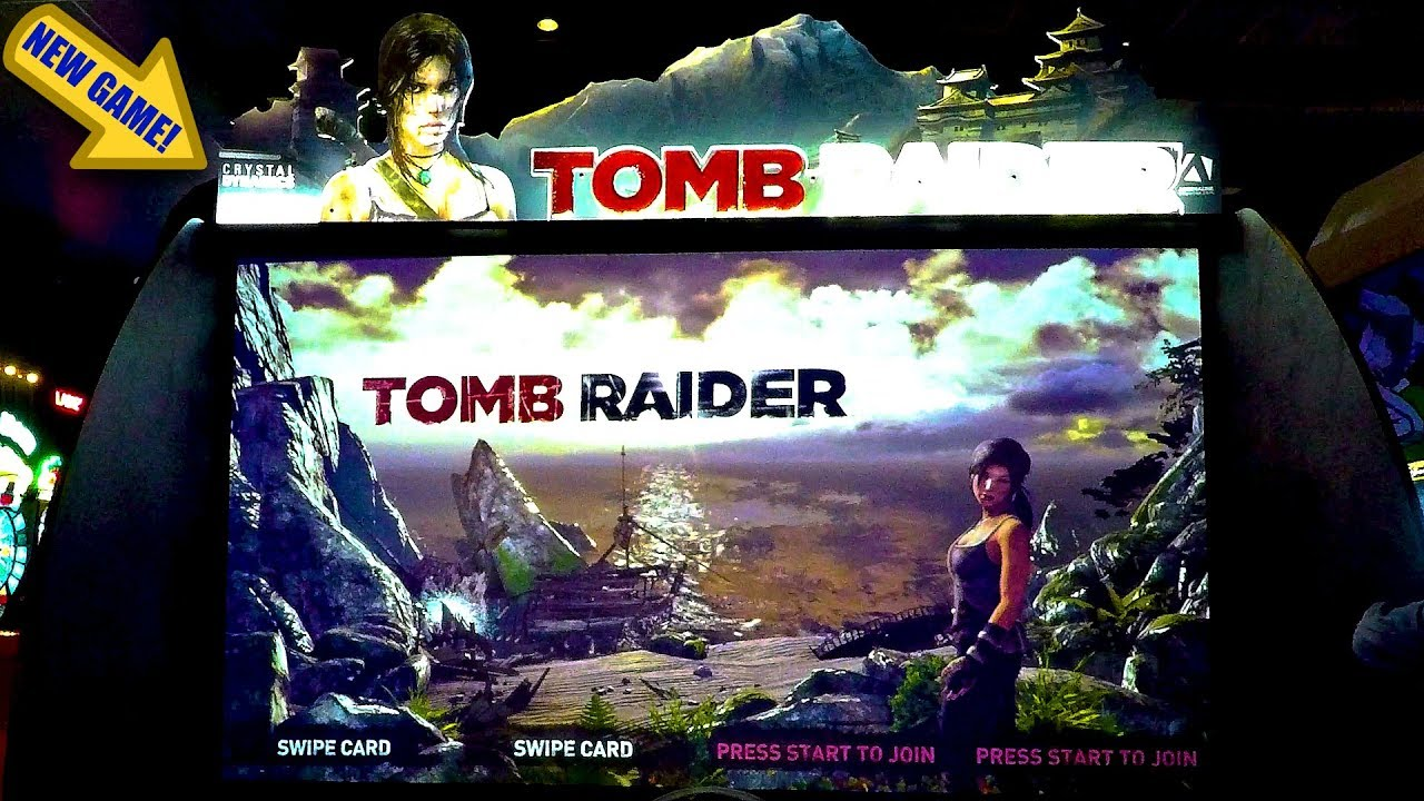Tomb Raider Arcade Game Play New Release: Stranded On An ...