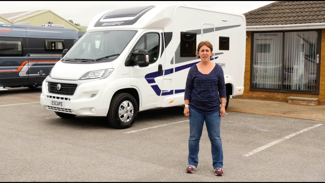 59130929929c99 The Practical Motorhome 2018 Swift Escape 604 review - YouTube