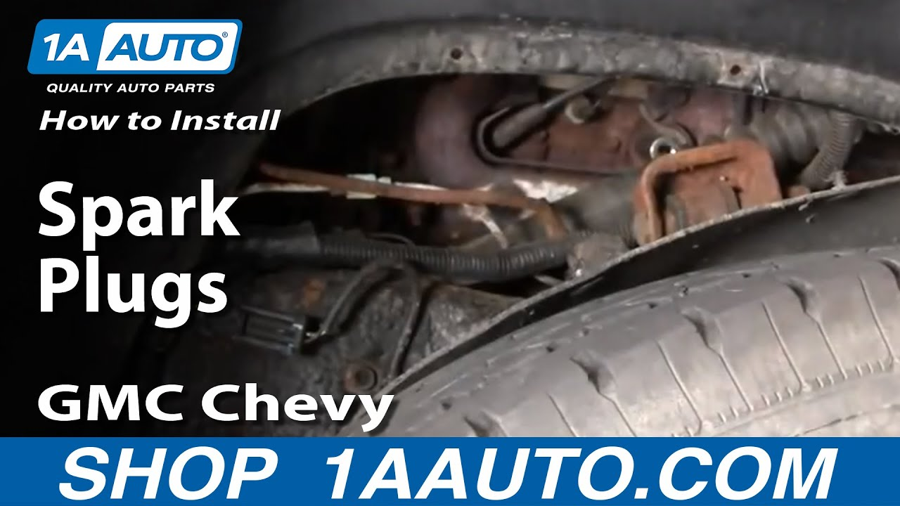 How to install replace spark plugs gmc chevy vortec 5700 1aauto how to install replace spark plugs gmc chevy vortec 5700 1aauto youtube sciox Images
