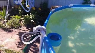 ЧАСТЬ 5. Обзор насоса Bestway 58122 для каркасного бассейна 366*76.  Замена стандартных фитингов.
