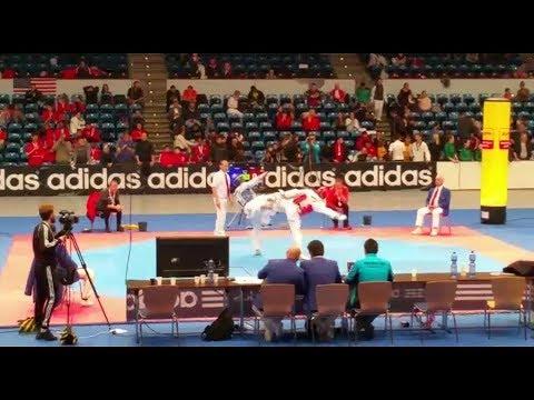 Taekwondo Vollkontakt Turnier - Internationales -  German Open 2018 - video momente  7.04.2018