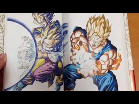 Dragon Ball DBZ Daizenshuu #1 Complete Illustrations Toriyama Akira Shueisha Japan FOJ
