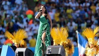 Ivete Sangalo no Encerramento da Copa do Mundo 2014