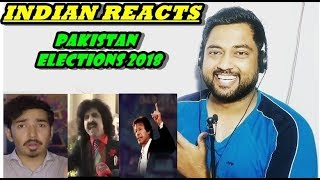 Indian Reacts to Who am I voting for? | Pakistan Elections 2018 | Mooroo