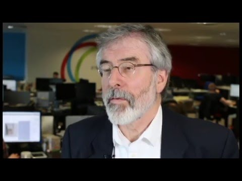 Gerry Adams on hugs, confession and telling the Troika to bugger off