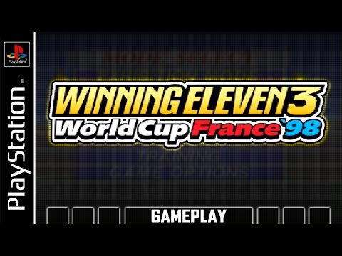 World Soccer Winning Eleven 3 - World Cup France '98 [PS1] Gameplay