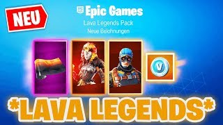 *NEW* SO you get the LAVA LEGENDS PACK in FORTNITE! | Fortnite Lava Legends