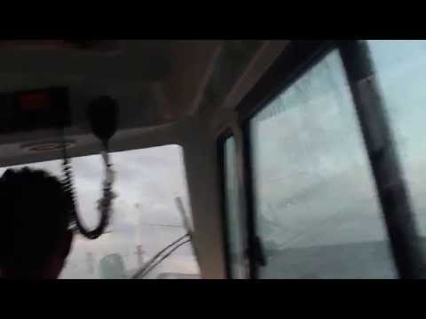 Exiting Arno Atoll Marshall Islands