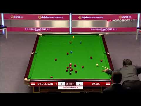 Ronnie o'sullivan Vs Mark Davis r2 English Open 2017