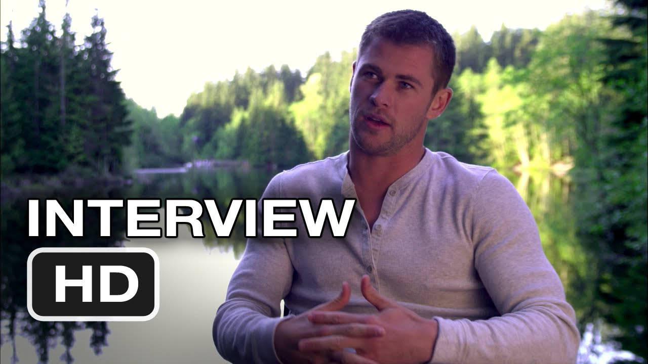 Cabin In The Woods Chris Hemsworth Interview 2012 Hd