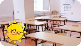 Wenn SCHULE zur HÖLLE wird: SUIZID-GEFAHR wegen SCHÜLER-MOBBING   SAT.1 Frühstücksfernsehen   TV