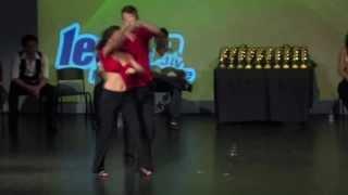 LeStep Brisbane 2010 Modern Jive Championship Finalists - Clint & Simone