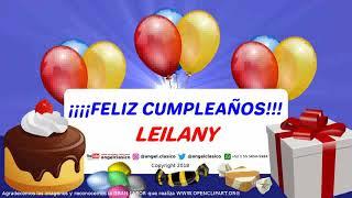 LEILANY FELIZ CUMPLEAÑOS Angelclasico