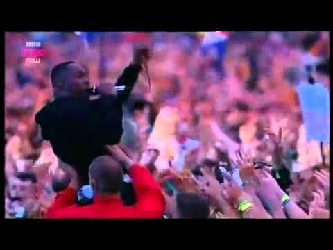 DIZZEE RASCAL BONKERS   live Awesome performance #glasto 2013
