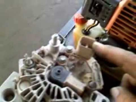 2013 Nissan Sentra Wiring Diagram Desarme Alternador Dodge Youtube